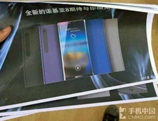 """Nokia 8 lại lộ """"ảnh nóng"""" trên mạng ảnh 1"""