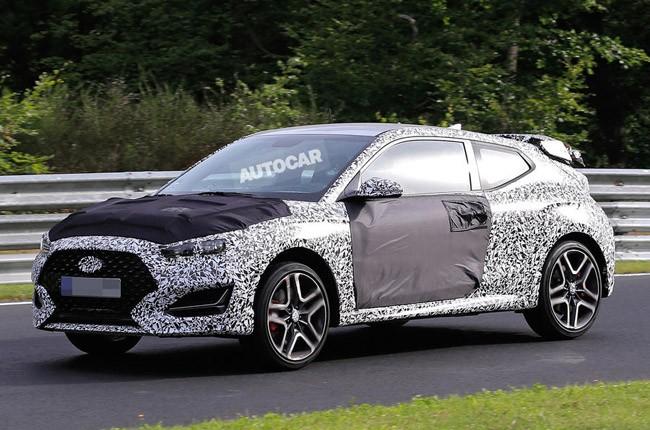 Rò rỉ hình ảnh Hyundai Veloster N - phiên bản hiệu suất cao của mẫu hatchback thể thao Veloster ảnh 1