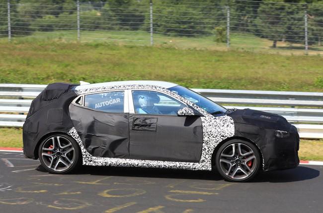 Rò rỉ hình ảnh Hyundai Veloster N - phiên bản hiệu suất cao của mẫu hatchback thể thao Veloster ảnh 4