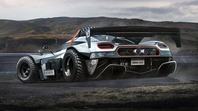 Koenigsegg One:1 phiên bản…off-road ảnh 1