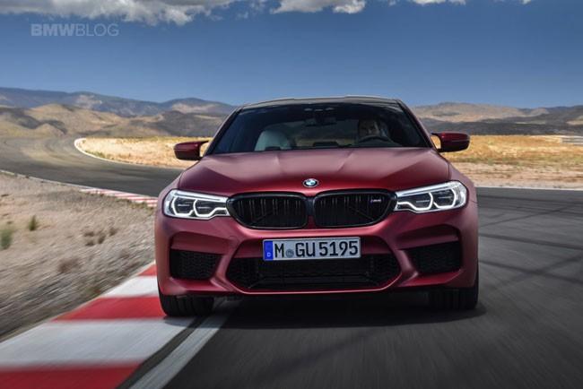 BMW M5 thế hệ mới chính thức ra mắt – chiếc BMW nhanh nhất trong lịch sử ảnh 1
