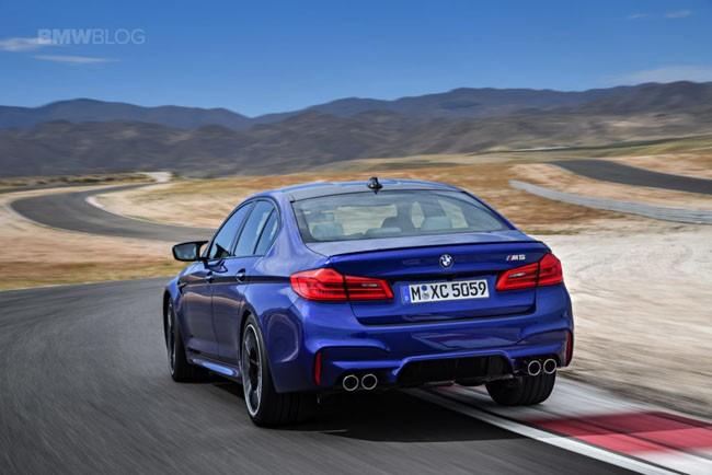 BMW M5 thế hệ mới chính thức ra mắt – chiếc BMW nhanh nhất trong lịch sử ảnh 7