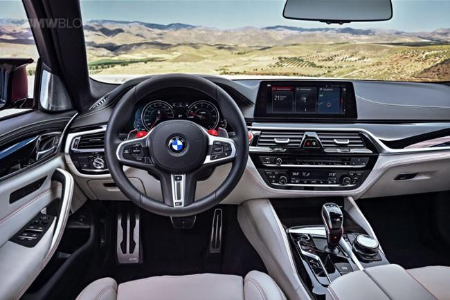 BMW M5 thế hệ mới chính thức ra mắt – chiếc BMW nhanh nhất trong lịch sử ảnh 9