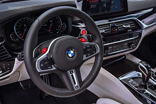 BMW M5 thế hệ mới chính thức ra mắt – chiếc BMW nhanh nhất trong lịch sử ảnh 8