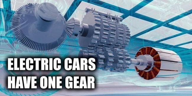 Vì sao hộp số của các mẫu xe điện thường chỉ có 1 cấp duy nhất. ảnh 1