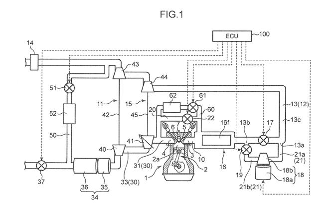 """Mazda nộp đơn xin cấp bằng sáng chế cho động cơ """"Triple-Charged"""" ảnh 2"""