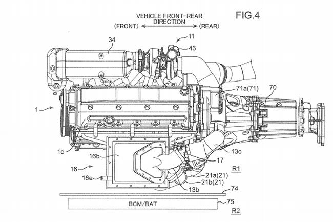 """Mazda nộp đơn xin cấp bằng sáng chế cho động cơ """"Triple-Charged"""" ảnh 3"""