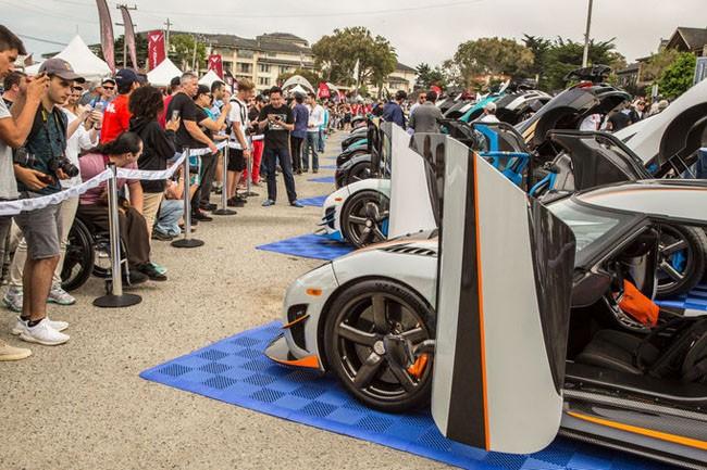 """6 mẫu xe được yêu thích nhất tại sự kiện """"Exotics on Cannery Row"""" ảnh 5"""