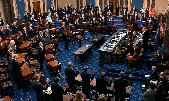 Không ngoài dự đoán: Thượng viện Mỹ tuyên ông Trump vô tội! ảnh 2