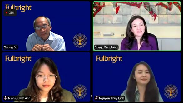 Nghe người phụ nữ quyền lực số 2 Facebook nói chuyện bình đẳng giới với sinh viên Việt Nam ảnh 2
