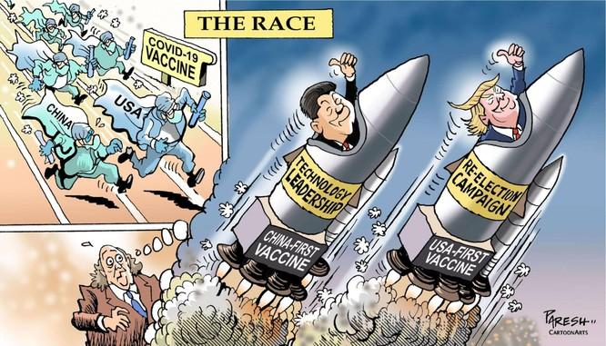 TS Terry F. Buss: Cuộc đua khốc liệt tiêm phòng vaccine Covid-19 giữa chính phủ các nước ảnh 1