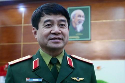 Trung tướng Võ Văn Tuấn.