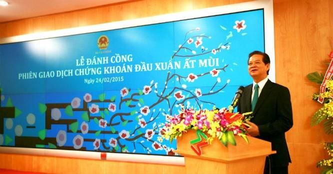 Thủ tướng Nguyễn Tấn Dũng chỉ đạo các bộ ngành cần quyết liệt thực hiện những giải pháp để thúc đẩy thị trường chứng khoán Việt Nam phát triển.