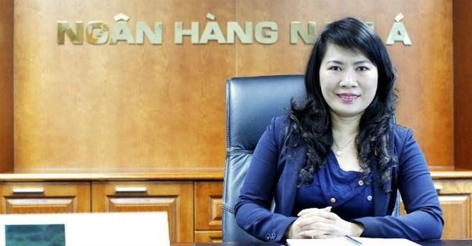 Bà Lương Thị Cẩm Tú, Phó tổng giám đốc thường trực Nam A Bank.