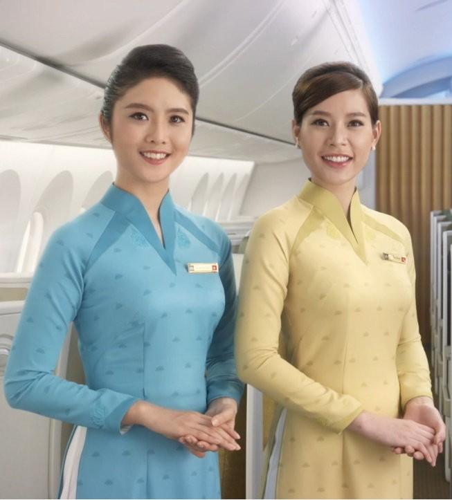 Đồng phục mới của nữ tiếp viên hàng không Vietnam Airlines.