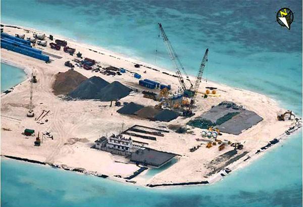Diện tịch đảo Gạc Ma đã lớn gấp nhiều lần sau khi cải tạo, mở rộng
