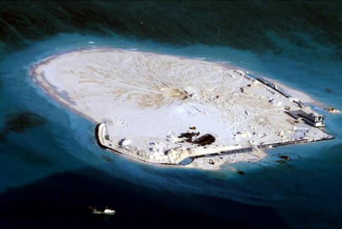 Đảo Gạc Ma trước khi cải tạo