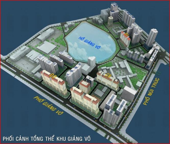 Khu đất 148 Giảng Võ (68.380m2) hiện đang được sử dụng là Trung tâm triển lãm