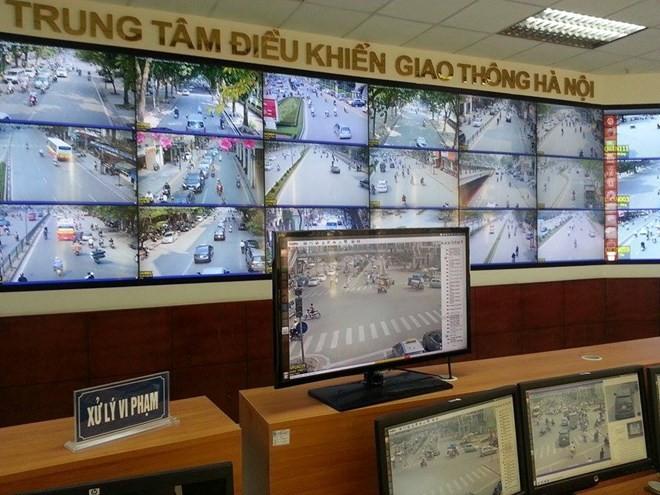 Hệ thống xử lý người tham gia giao thông vi phạm qua camera.