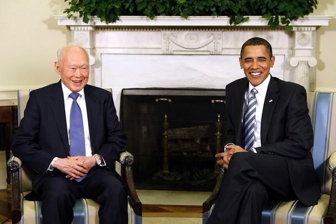 Ông Lý Quang Diệu và Tổng thống Obama