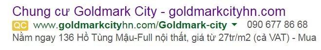 Dự án Goldmark City: Loạn giá bán bẫy khách hàng ảnh 1