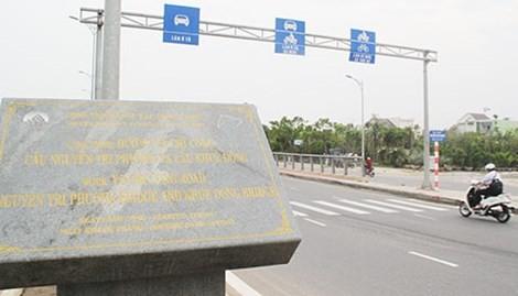 Cầu Nguyễn Tri Phương nằm trong dự án đầu tư cơ sở hạ tầng ưu tiên ở Đà Nẵng bị WB ra thông báo dính hối lộ.