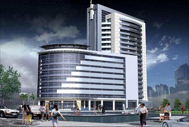 Tòa nhà được xây dựng trên diện tích 5000m2, có chiều cao 15 tầng, nằm trên đường Minh Khai, quận Hai Bà Trưng, Hà Nội.