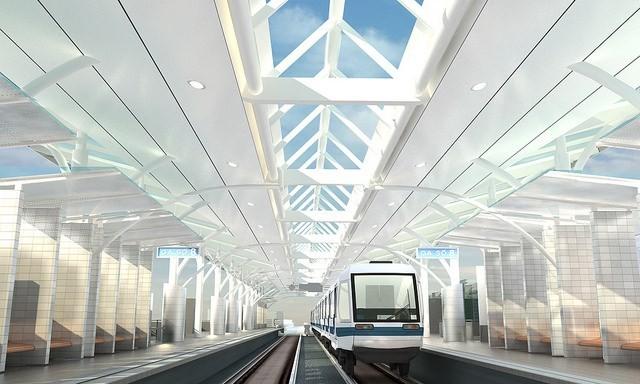 Theo thiết kế, tuyến đường sắt có điểm bắt đầu là Ga đầu Nhổn (huyện Từ Liêm). điểm cuối là Ga cuối ga đường sắt Hà Nội nằm trên đường Trần Hưng Đạo.