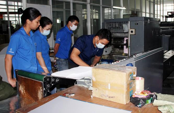 Nhiều máy móc trong ngành in như máy xén giấy cũng phải xin phép (Ảnh minh hoạ, theo Ioneads)