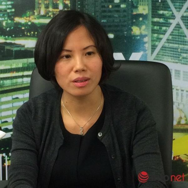Bà Nguyễn Thùy Dương - Phó tổng giám đốc phụ trách dịch vụ tài chính ngân hàng – Công ty Ernst & Young Việt Nam