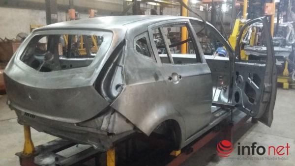 Khoảng 200 chiếc xe thương hiệu VG đang được hoàn thiện sản xuất