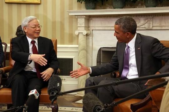 Việt-Mỹ gặp gỡ lịch sử: Dự kiến 45, hội đàm kéo dài 95 phút ảnh 4