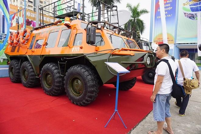 Việt Nam lần đầu phô diễn nhiều vũ khí, trang bị hiện đại sẵn sàng chiến đấu ảnh 32
