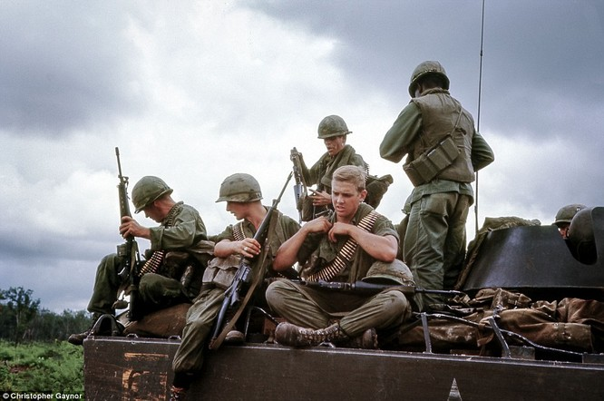 Ảnh độc chưa từng công bố về lính Mỹ trong chiến tranh Việt Nam ảnh 4