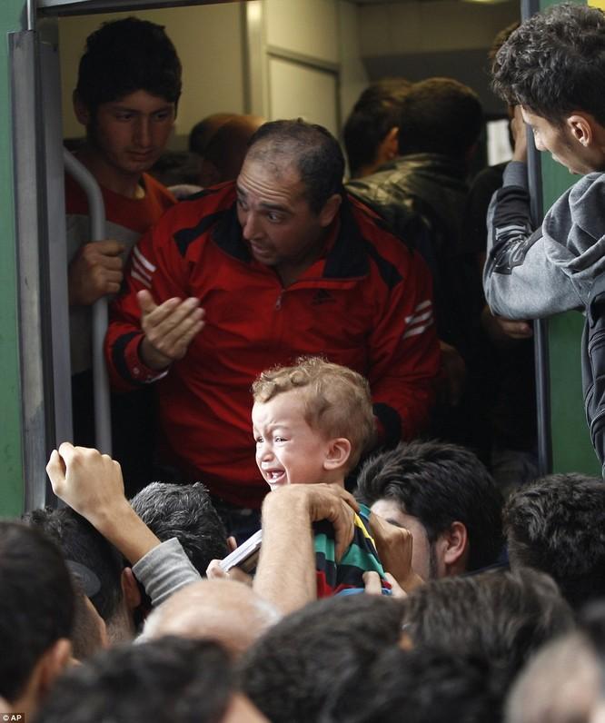 Kinh hoàng làn sóng dân chạy loạn tìm cách tràn vào châu Âu ảnh 27