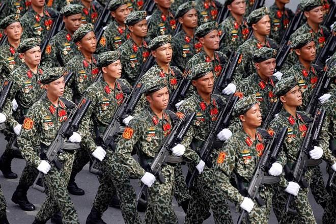Lễ diễu binh hoành tráng mừng Quốc khánh Việt Nam trên báo chí quốc tế ảnh 1