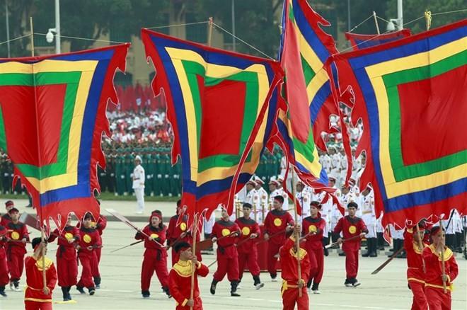 Lễ diễu binh hoành tráng mừng Quốc khánh Việt Nam trên báo chí quốc tế ảnh 2