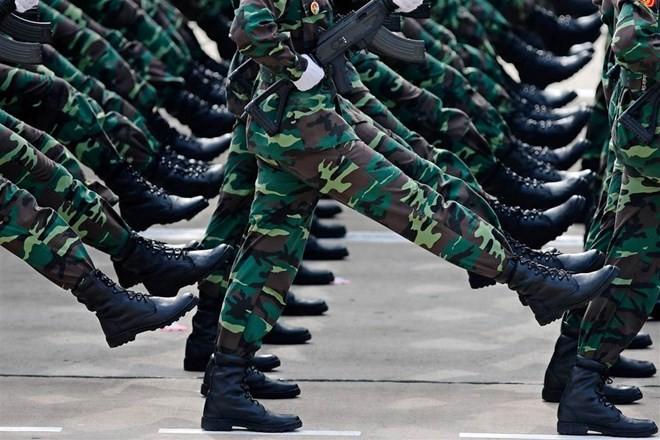 Lễ diễu binh hoành tráng mừng Quốc khánh Việt Nam trên báo chí quốc tế ảnh 3