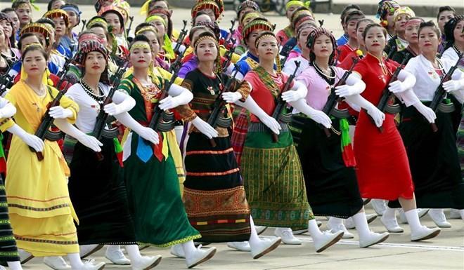 Lễ diễu binh hoành tráng mừng Quốc khánh Việt Nam trên báo chí quốc tế ảnh 4