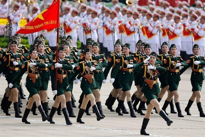 Lễ diễu binh hoành tráng mừng Quốc khánh Việt Nam trên báo chí quốc tế ảnh 6