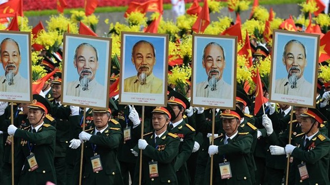 Lễ diễu binh hoành tráng mừng Quốc khánh Việt Nam trên báo chí quốc tế ảnh 8