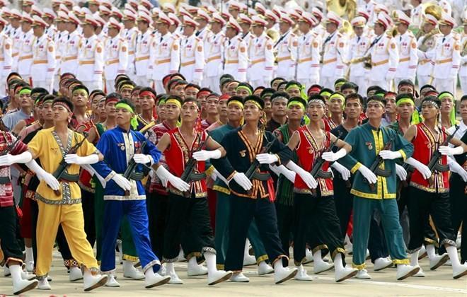Lễ diễu binh hoành tráng mừng Quốc khánh Việt Nam trên báo chí quốc tế ảnh 9