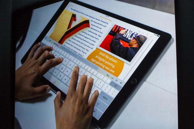 Apple chính thức trình làng iPad Pro ảnh 1
