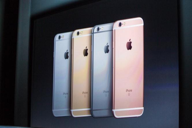 iPhone 6S và iPhone 6S Plus mở bán từ 12-9 ảnh 1