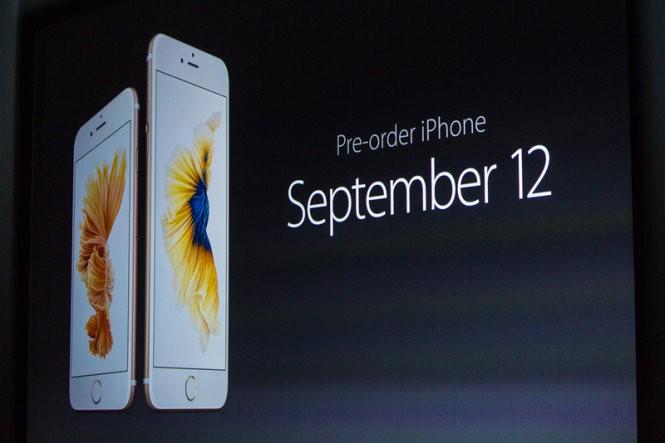 iPhone 6S và iPhone 6S Plus mở bán từ 12-9 ảnh 11