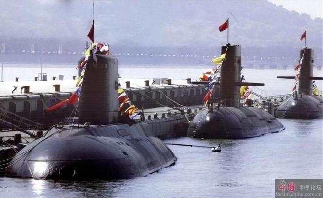 Tàu ngầm thông thường lớp Nguyên của Trung Quốc cũng được triển khai hoạt động tại Biển Đông