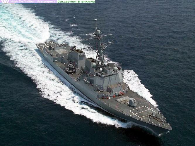Khu trục hạm lớp Arleigh Burke sẽ được nâng cấp hệ thống phòng thủ Aegis nhằm vô hiệu hóa tên lửa DF-26