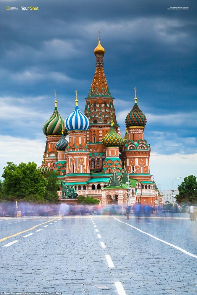 Đại giáo đường Saint Basil trên Quảng trưởng Đỏ ở Moscow, Nga