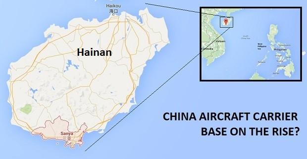 Trung Quốc lo căn cứ hải quân tại Sanya (Hải Nam) dễ trở thành mồi ngon trong trường hợp có xung đột