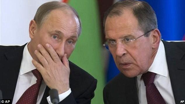 Tổng thống Putin và Ngoại trưởng Lavrov